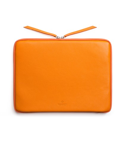 Laptopfodral Grängad Orange