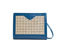 Clutch with detachable shoulder strap