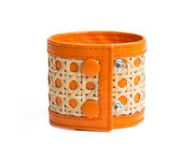 Rottingarmband Orange
