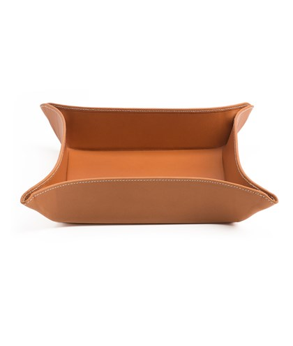 Leather tray Large