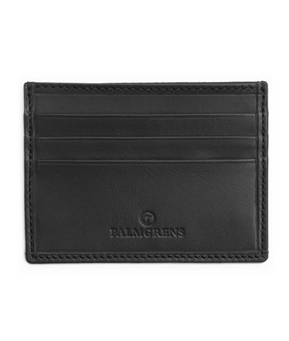 Palmgrens - Kortfodral Svart - Genuine handcrafted leather since 1896 1d91013a27fda
