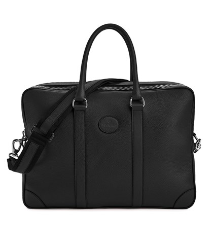 Bag w. double zip - Black